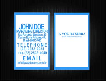 #17 for I need some corporate identity itens designed (business cards, wallpaper etc) by sharmzbayona