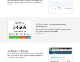 Nro 6 kilpailuun Design a Wordpress Mockup käyttäjältä Bkmraj