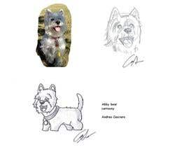#10 cho crreate a cartoon illustration of my dog for a childrens book bởi WonderFabrique