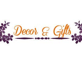 #71 para Design a Logo for Decor & Gifts por nilankohalder