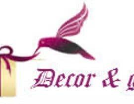 #37 para Design a Logo for Decor & Gifts por madhuagnihotri
