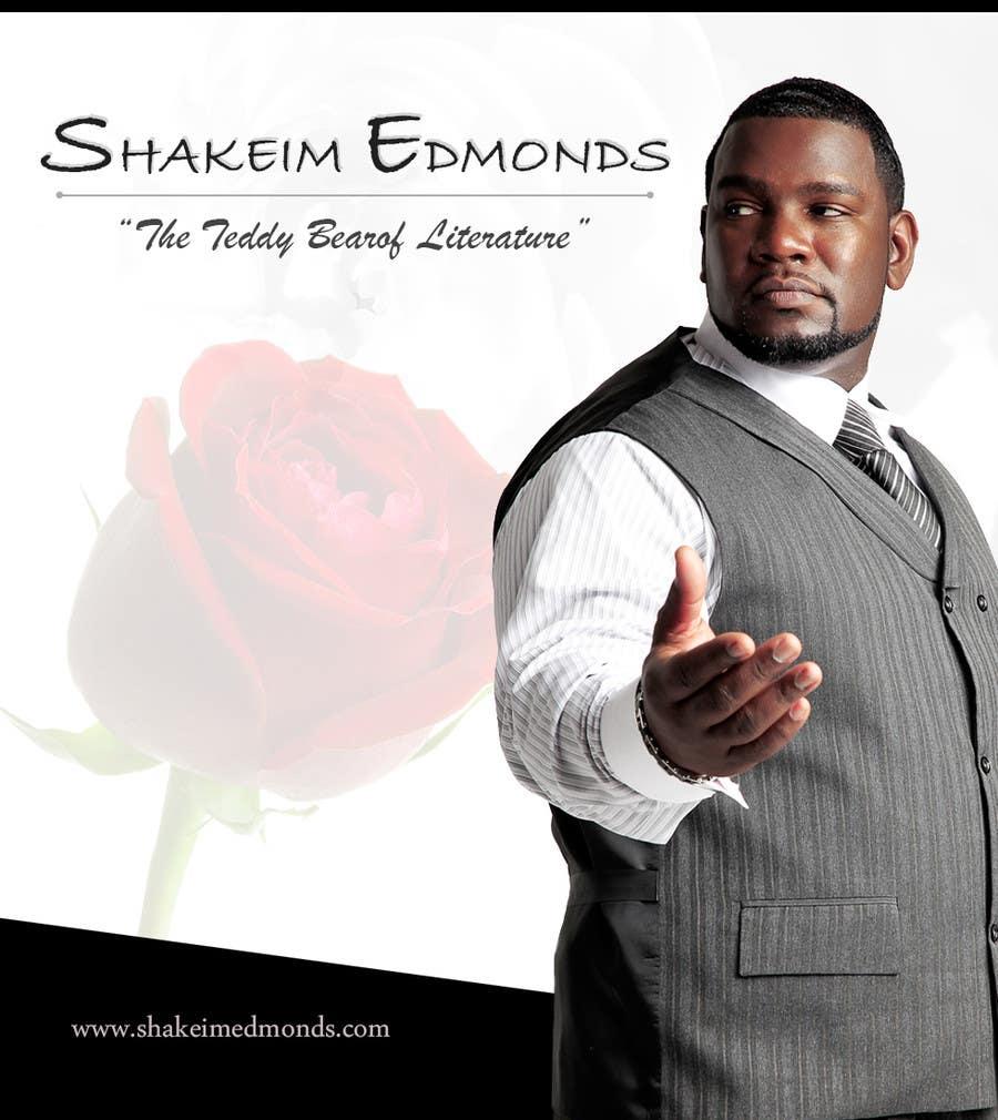 """Inscrição nº                                         50                                      do Concurso para                                         Design a Flyer for Author """"Shakeim Edmonds"""""""