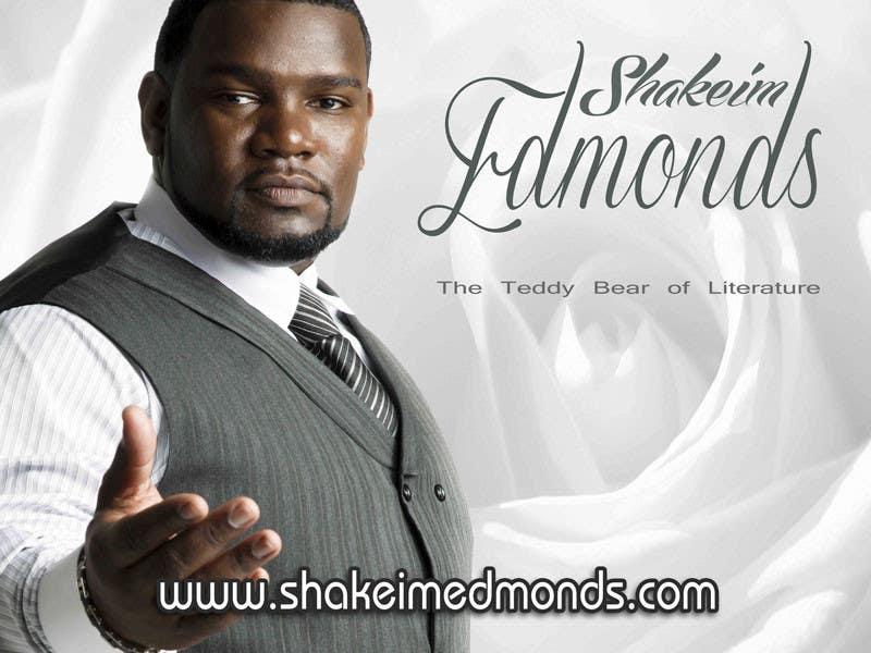 """Inscrição nº                                         42                                      do Concurso para                                         Design a Flyer for Author """"Shakeim Edmonds"""""""