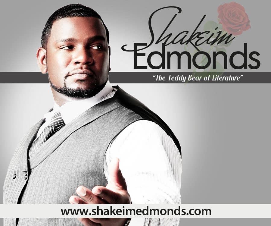 """Inscrição nº                                         8                                      do Concurso para                                         Design a Flyer for Author """"Shakeim Edmonds"""""""