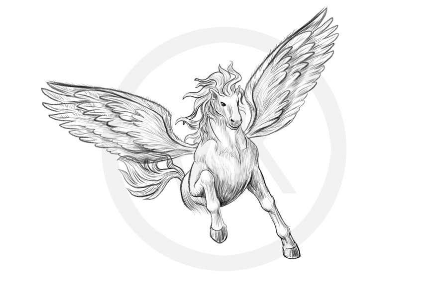 Inscrição nº                                         18                                      do Concurso para                                         Draw a Pegasus