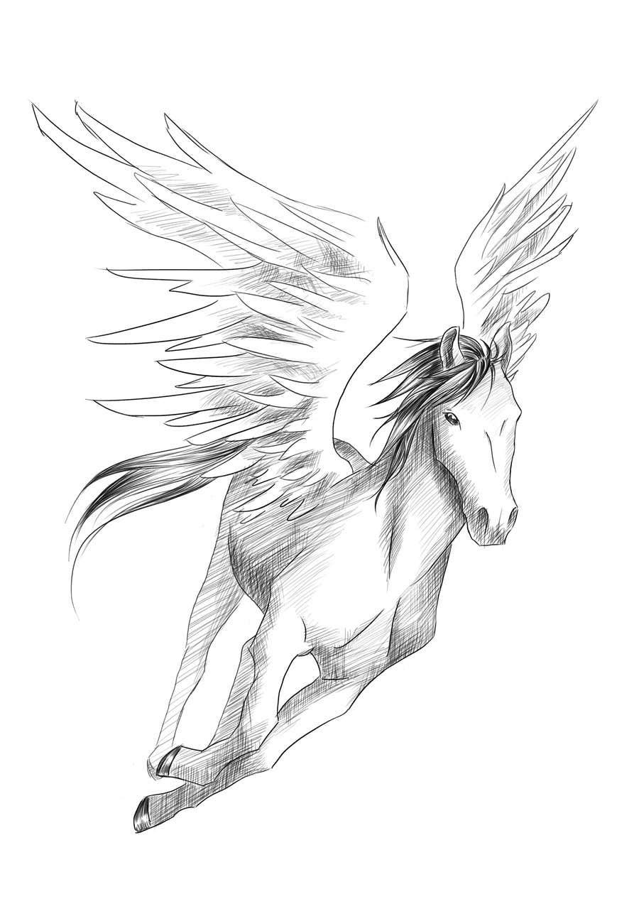 Kilpailutyö #17 kilpailussa Draw a Pegasus
