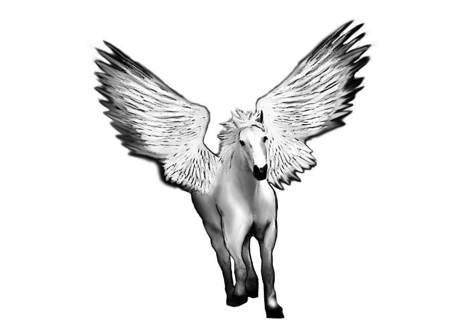 Inscrição nº                                         7                                      do Concurso para                                         Draw a Pegasus