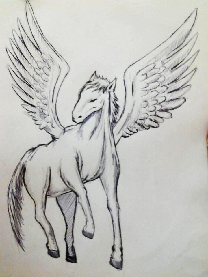 Inscrição nº                                         11                                      do Concurso para                                         Draw a Pegasus