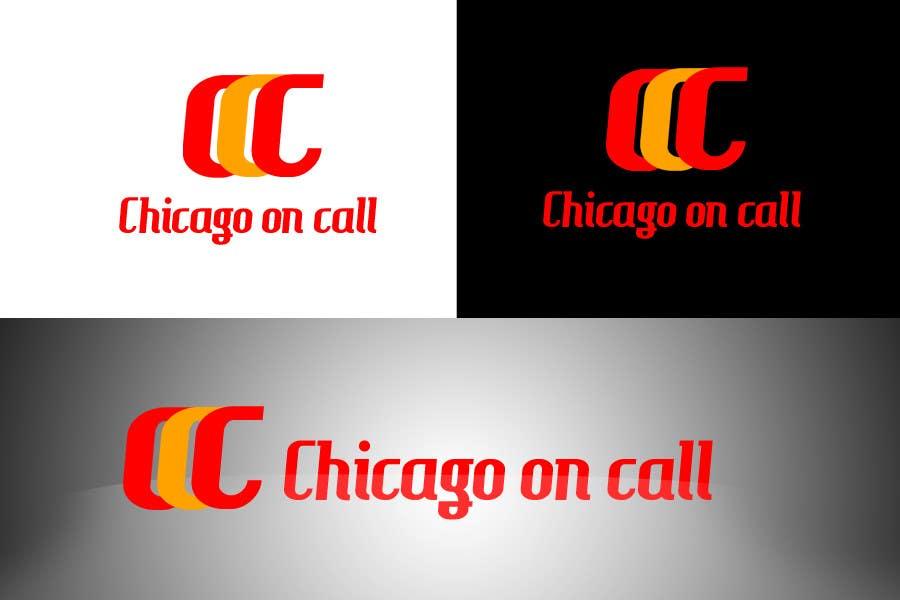 Kilpailutyö #349 kilpailussa Logo Design for Chicago On Call