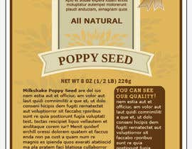 #3 for Create Print and Packaging Designs for a Pack of Poppy Seeds by milkshake235
