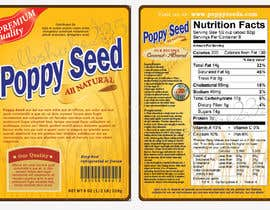 #5 para Create Print and Packaging Designs for a Pack of Poppy Seeds por milkshake235