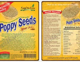 nº 8 pour Create Print and Packaging Designs for a Pack of Poppy Seeds par milkshake235