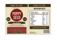 Contest Entry #13 for Create Print and Packaging Designs for a Pack of Poppy Seeds