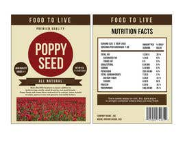 nº 13 pour Create Print and Packaging Designs for a Pack of Poppy Seeds par mikezipper23