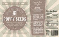 Contest Entry #6 for Create Print and Packaging Designs for a Pack of Poppy Seeds