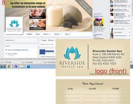 #5 untuk Design some Business Cards, Stationary and facebook banner/profile picture for Riverside Dental Spa oleh bunakiddz
