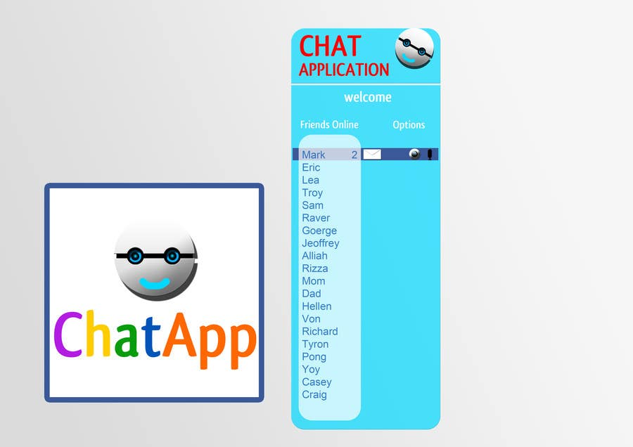 Contest Entry #2 for Chat App User Interface