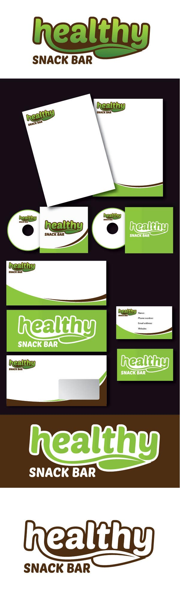 #127 for Design a Logo for A Healthy Snack Website by alexandracol
