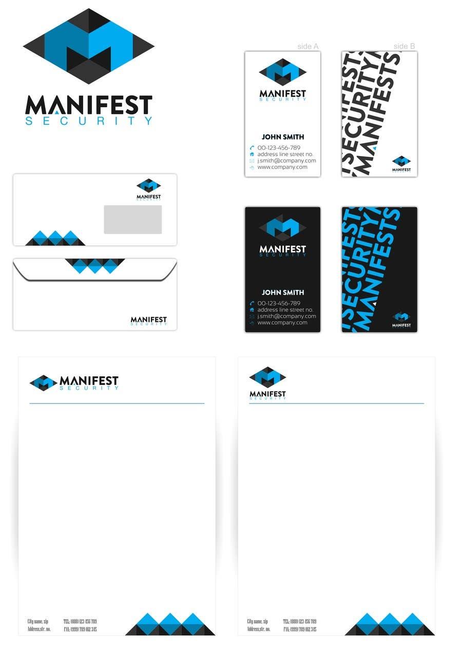 """""""Manifest Security"""" Logo için 43 numaralı Yarışma Girdisi"""