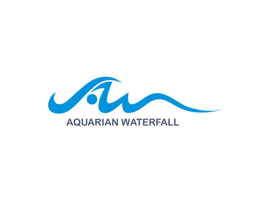 #65 for Design a Logo for Aquarian Waterfall by Ardiy