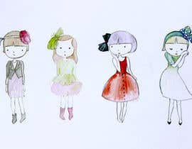 #27 para Design a GIRL ILLUSTRATION for via cacao por yingart