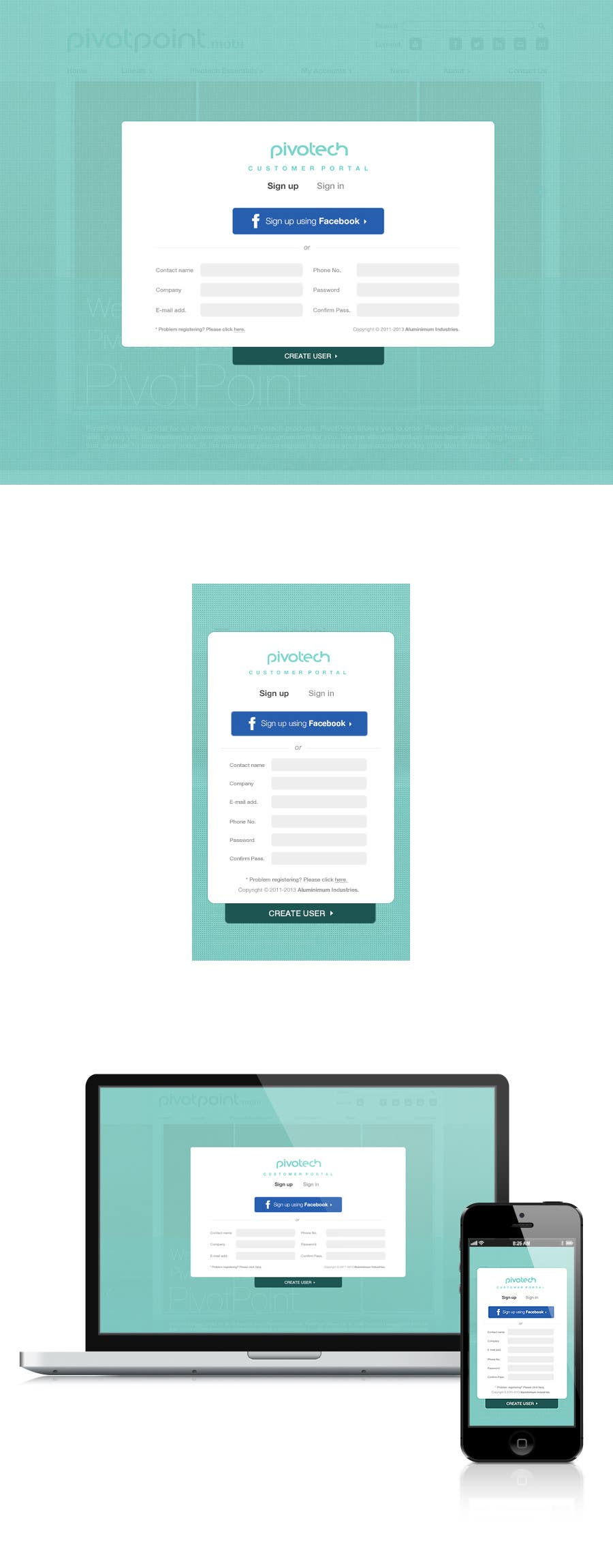 #58 for Design a Website Mockup for revitalization of our B2B customer resource by amandachien