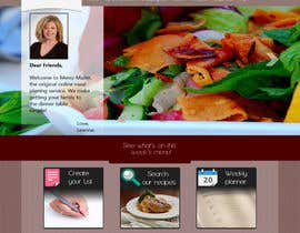 riopratama tarafından Design a Website Mockup for our Premium Menu-Mailer website. için no 6