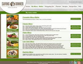 grafixeu tarafından Design a Website Mockup for our Premium Menu-Mailer website. için no 38