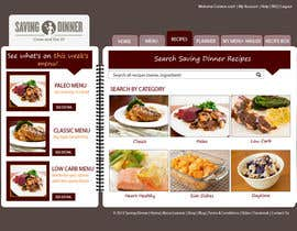 HBPC tarafından Design a Website Mockup for our Premium Menu-Mailer website. için no 27