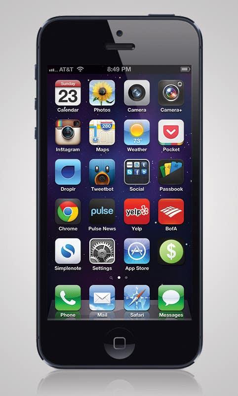Inscrição nº                                         1                                      do Concurso para                                         Design some Icons for iPhone app