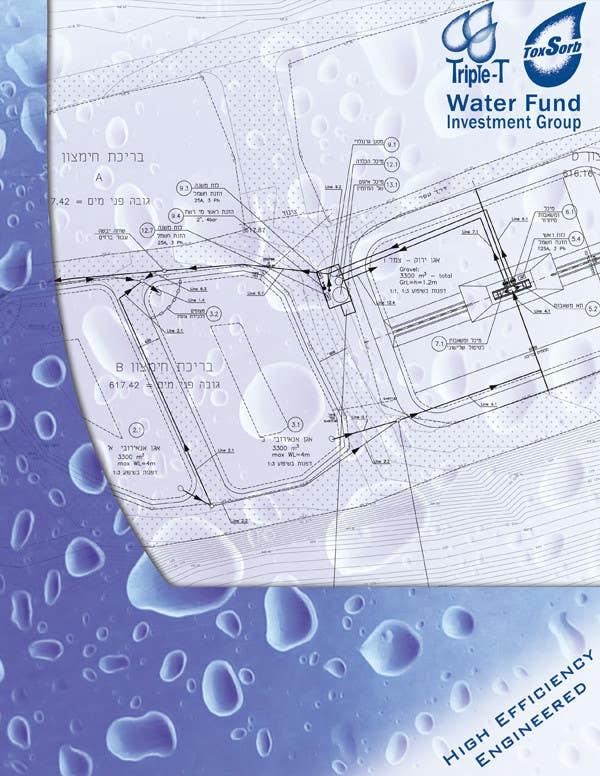 Konkurrenceindlæg #                                        104                                      for                                         Folder Graphic Design for Water Technology Exhibition