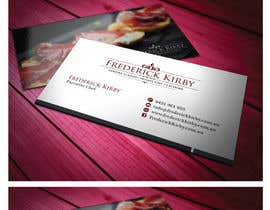 #95 para Design a Logo/Business Card for an Executive Chef por MaxDesigner