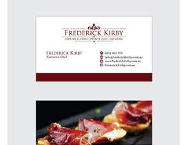 #142 para Design a Logo/Business Card for an Executive Chef por MaxDesigner