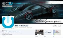 Contest Entry #22 for Design a Facebook landing page for ECU Technologies