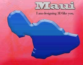 #6 cho I need some Graphic Design for maui map bởi sanart