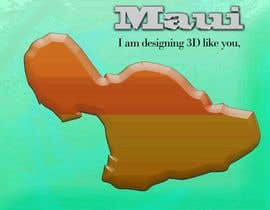 #10 para I need some Graphic Design for maui map por sanart