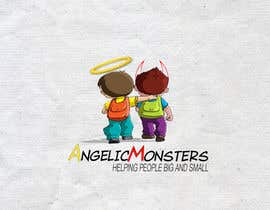 #5 for Design a Logo for Angelic Monsters by TSZDESIGNS
