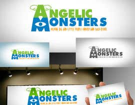 #11 for Design a Logo for Angelic Monsters by bunakiddz