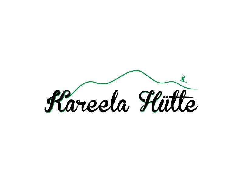 Конкурсная заявка №42 для Logo Design for Kareela Hütte