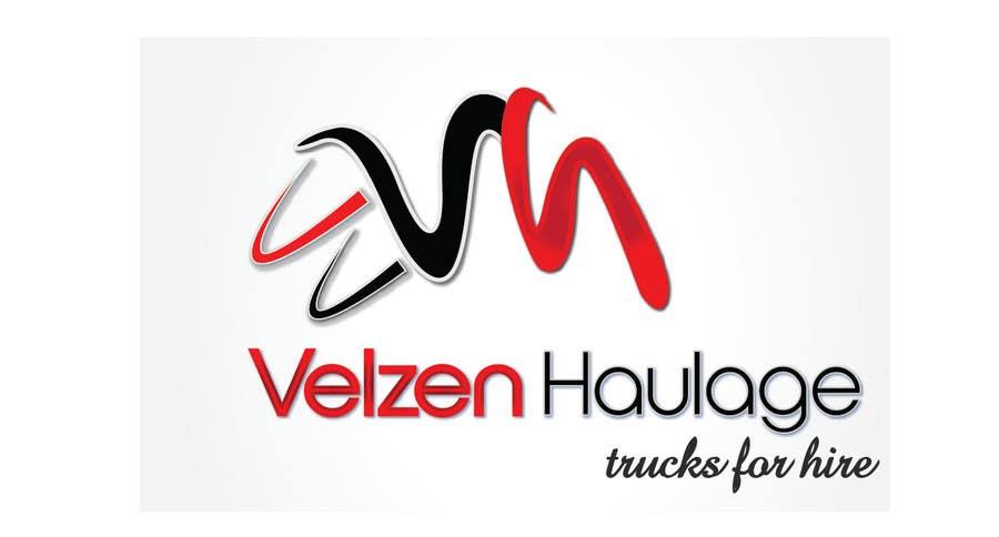 Penyertaan Peraduan #220 untuk Logo Design for Velzen Haulage