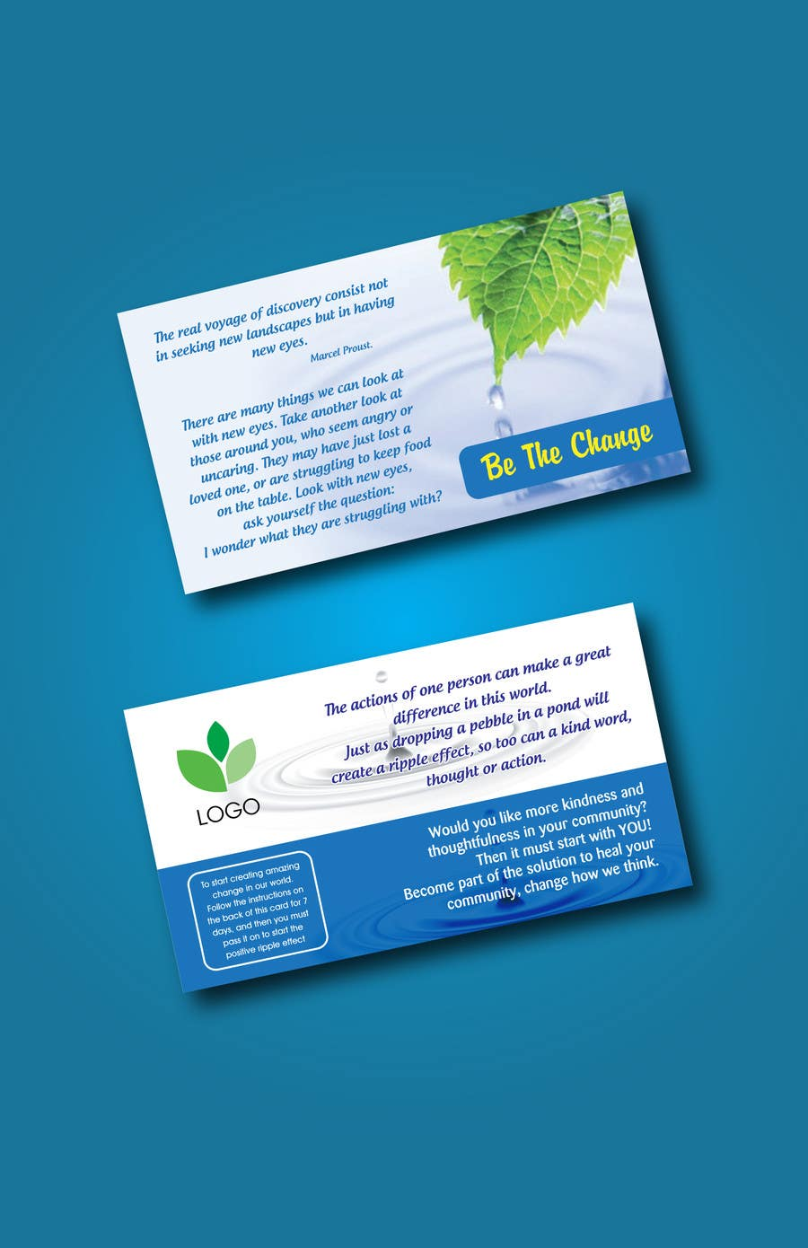 #25 for Design some Business Cards/Game Cards by blacklist08