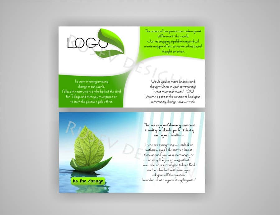 #26 for Design some Business Cards/Game Cards by Mys7ic