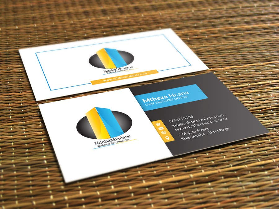 Entry #9 by sunnyw for Design a letterhead and business cards for a ...