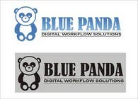 Graphic Design Inscrição do Concurso Nº72 para Design a Logo for new IT company - BLUE PANDA