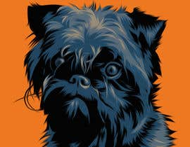 #20 cho Affenpinscher dog converted to Pop Art bởi elenabsl
