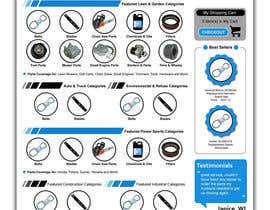 carlloo2013 tarafından Design a Website Mockup for my home page için no 4