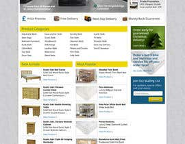 #40 for Website Design for The Bed Shop (Online Furniture Retailer) af wademd