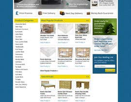 #42 pentru Website Design for The Bed Shop (Online Furniture Retailer) de către wademd