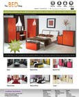 Graphic Design Contest Entry #58 for Website Design for The Bed Shop (Online Furniture Retailer)