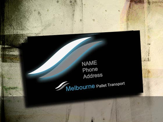 #9 for Design some Business Cards for Melbourne Pallet Transport by five55555